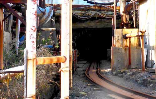 池島炭鉱トロッコ情報