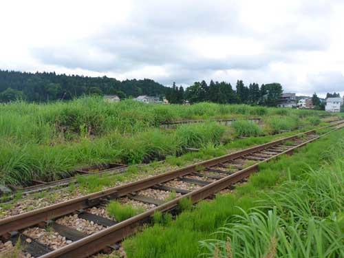 飯山線下条駅