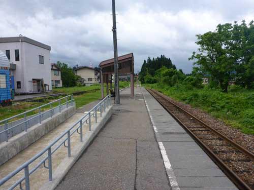 飯山線土市駅