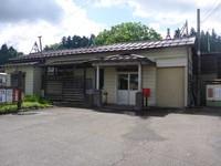 飯山線越後岩沢駅