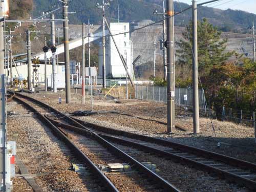 身延線十島駅