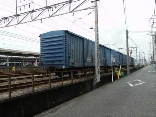 東海道線富士駅南東