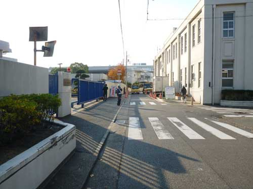和田岬線鐘紡前駅