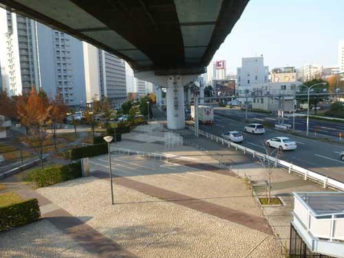 東海道線東灘駅 神戸港線