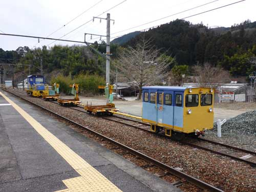 飯田線浦川駅