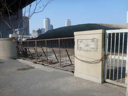 神戸港線神戸港駅西側埠頭