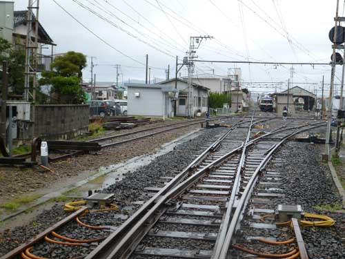 一畑電鉄平田駅