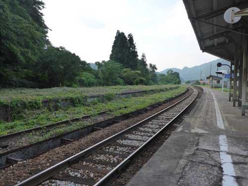 高山線楡原駅