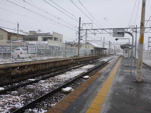 飯田線伊那松島駅