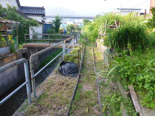 北陸線青海駅2 石灰ナロー
