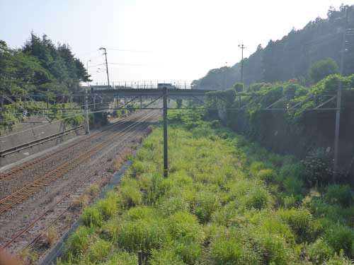 北陸線青海駅3