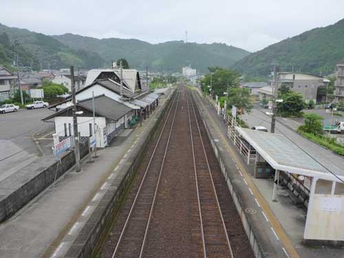 土讃線佐川駅