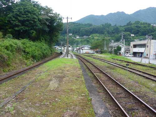 土讃線大田口駅