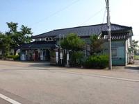 城端線城端駅