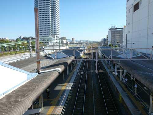 東海道線吹田駅