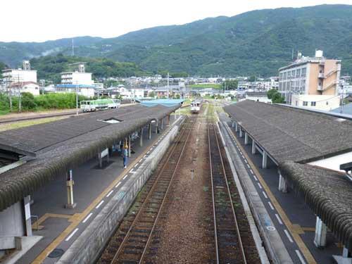 土讃線阿波池田駅
