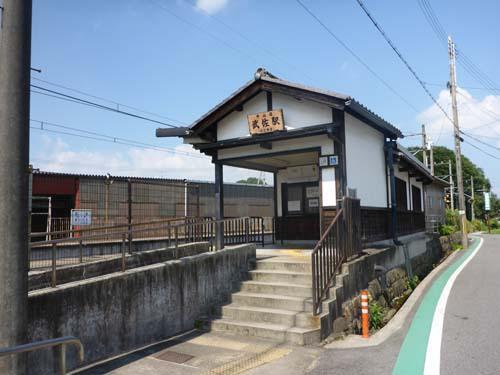 近江鉄道武佐駅