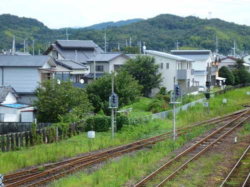 土讃線土佐山田駅