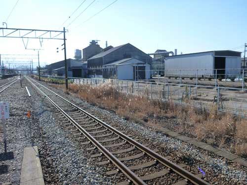 北陸線黒部駅