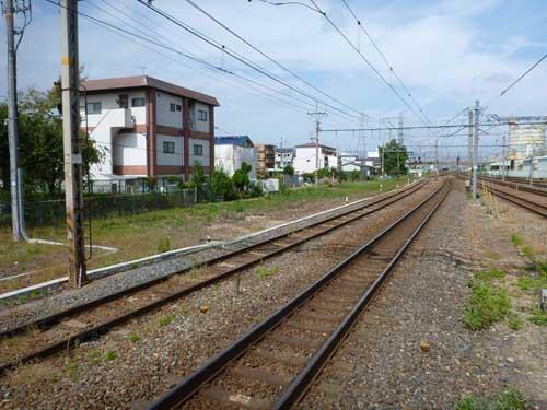 東海道線向日町駅
