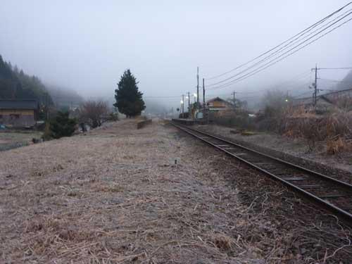 芸備線坂根駅