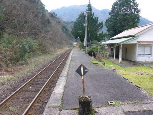 三江線石見川越駅