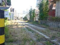 西濃鉄道市橋線手前