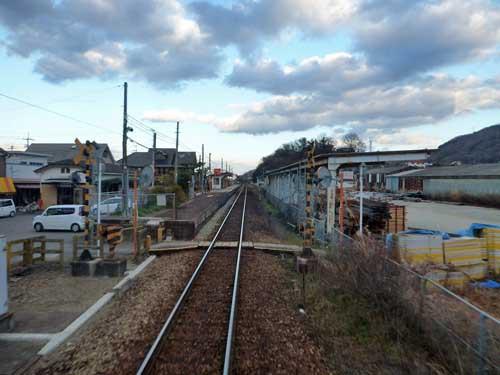 徳島線阿波山川駅