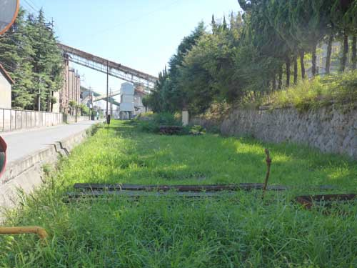 西濃鉄道市橋線奥