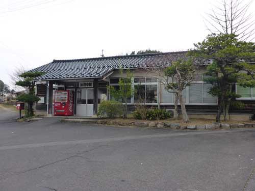 木次線加茂中駅