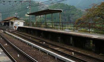 南海上古沢駅