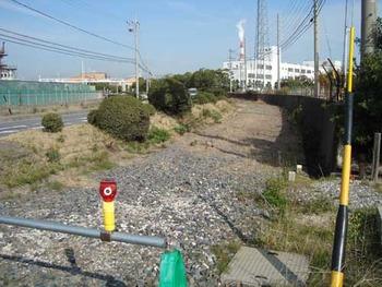 関西線塩浜駅化学