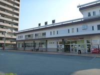 山陰線東萩駅