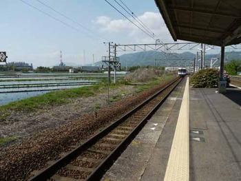 山陽線南岩国駅