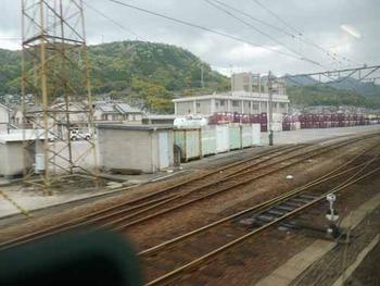 山陽線大竹駅