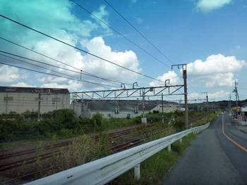 山陽線小野田駅