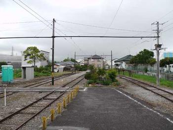 岳南鉄道江尾駅