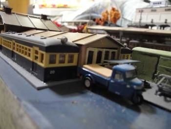 所沢車両工場模型