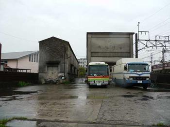 関西線桑名駅 倉庫