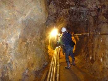 紀州鉱山坑道公開2回目情報
