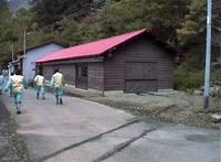 芦生森林廃線跡1