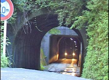 高野山森林鉄道花坂線跡