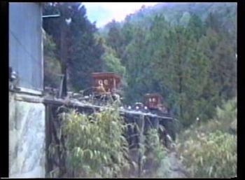 国見鉱山トロッコ報告