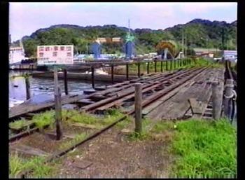 北陸線敦賀港駅