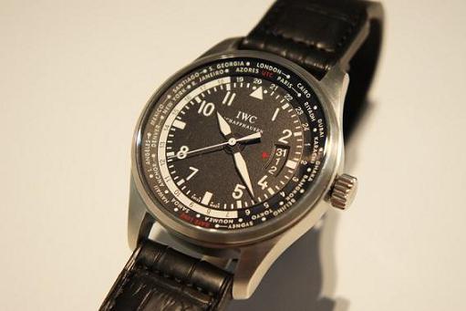 2012年新作IWC パイロットウォッチ ワールドタイマー