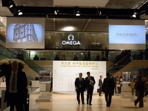 BASELWORLD2010 OMEGAブース