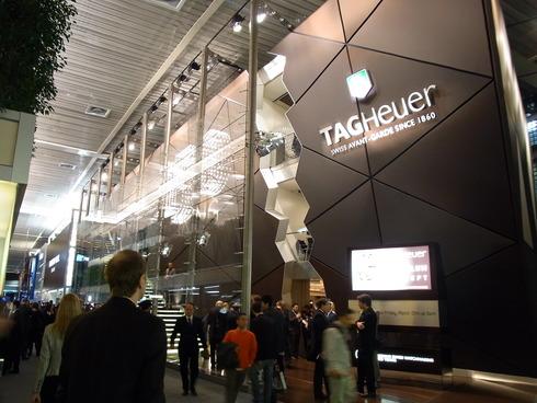 BASELWORLD2010 TAGHeuerブース
