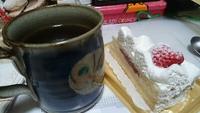 ケーキ食べて