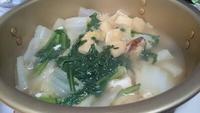 鍋のままスープ