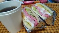 お昼は   サンドイッチダイエット